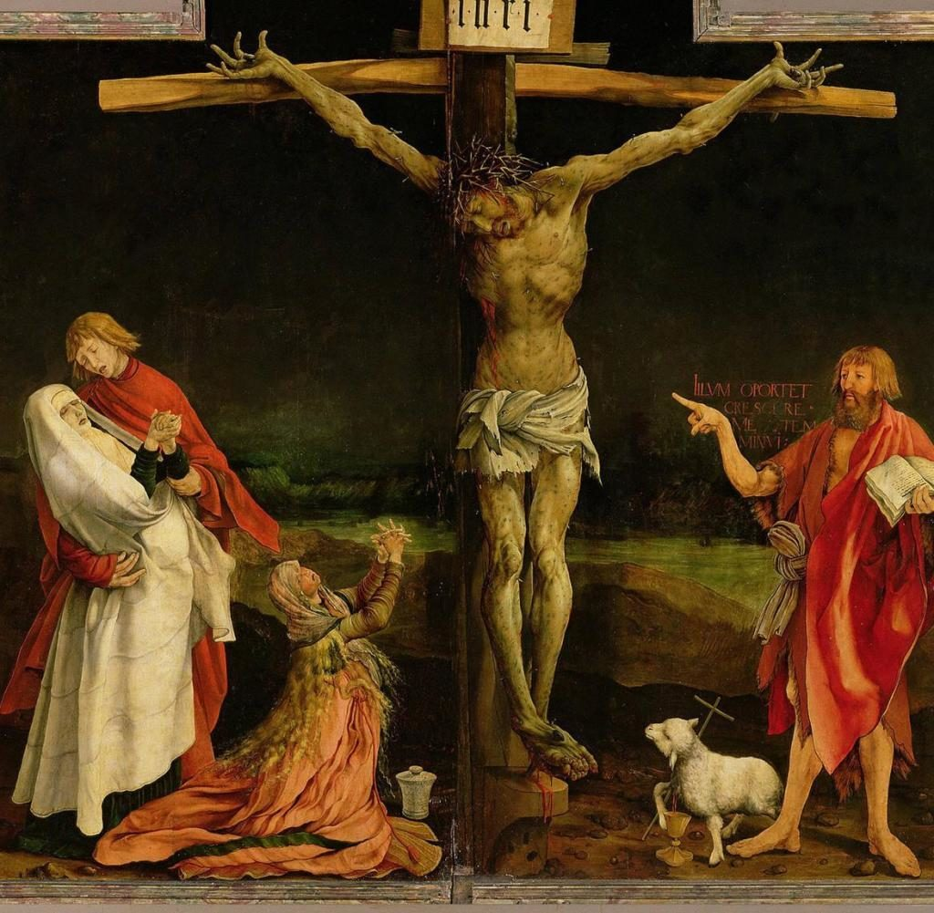 The-Isenheim-Altarpiece-Artist-Grnewald